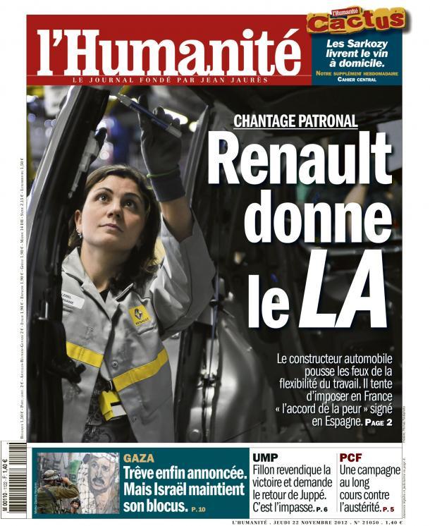 Renault tente d'imposer en France