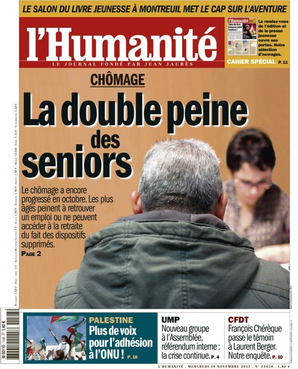 Nouvelle flambée du chômage des séniors dans Chomage huma2811