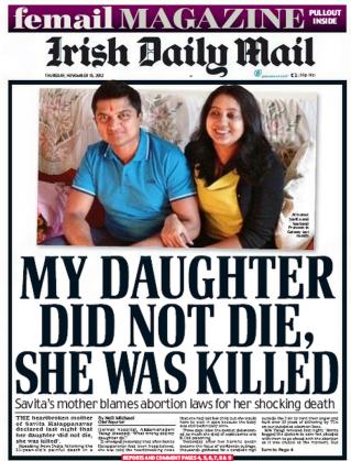 Irlande : Mort d'une jeune maman parce que