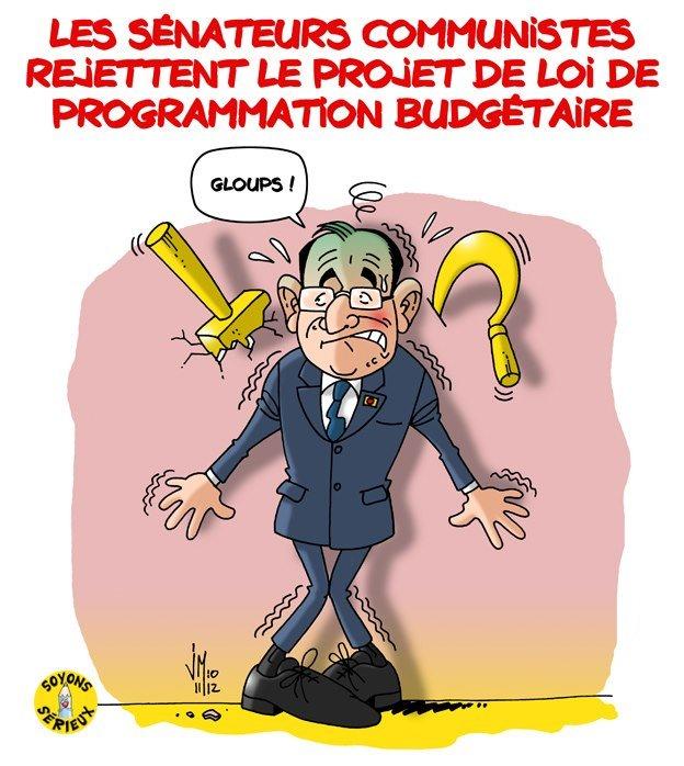 Budget de la Sécu 2013 : le Sénat dit NON ! dans France senat