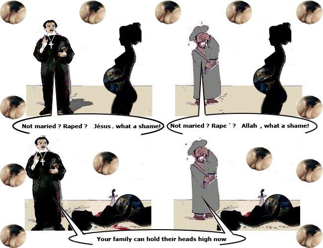 Viol, les dégâts collatéraux dans Droits des femmes vb