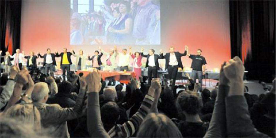 36e congrès du PCF : vote des communistes (résultats) dans France congres