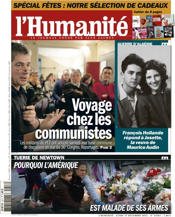 Voyage chez les communistes dans l'Humanité huma1712