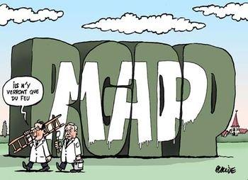 MAP / RGPP : mêmes objectifs  dans Austerite map