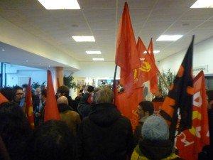 Contre l'augmentation des tarifs de Transpole, les Jeunes Communistes envahissent la communauté urbaine de Lille dans INFOS mjcf