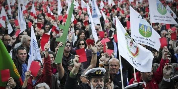 Portugal : Grève dans les transports contre la casse du droit du travail dans Austerite portugal