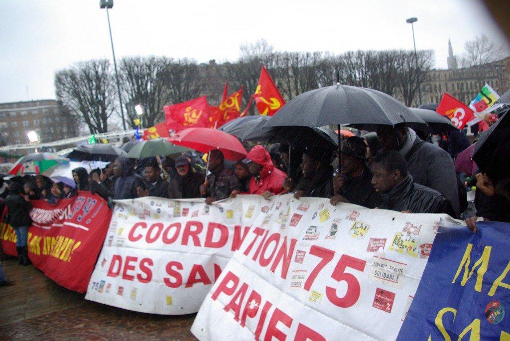 Sans-Papiers : manifestation du 22 décembre à Lille dans France sans-papierslille