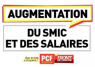 Indexons le Smic sur l'augmentation des salaires des patrons du CAC40 dans ECONOMIE smic4
