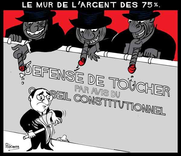 Censures du Conseil constitutionnel :