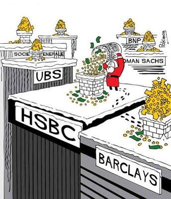 2012, année exceptionnellement faste pour les bankers dans ECONOMIE banques