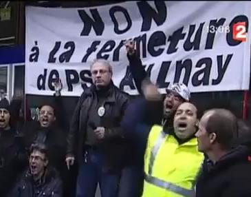 PSA Aulnay : Reconduction de la grève et occupation de l'usine  dans CGT capture9