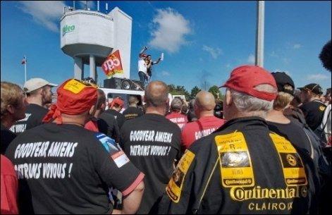 Goodyear Amiens : fermeture du site confirmée dans CGT goodyear1