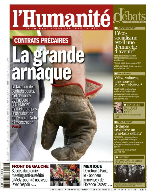 Contrats précaires, la grande arnaque dans Austerite huma2501