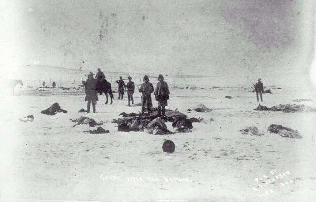 Du Lakota à Gaza dans ETATS-UNIS knee