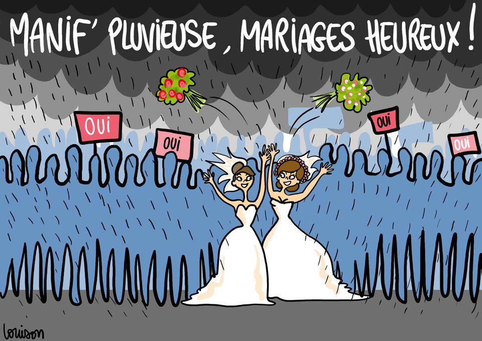 Mariage pour tous : 400 000 manifestants selon les organisateurs  dans Mariage pour tous mariage3