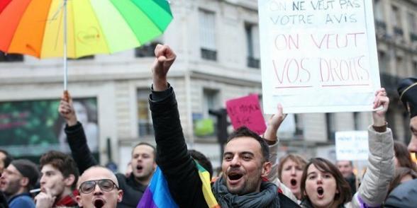 Mariage pour tous : des milliers de manifestants en province dans Mariage pour tous