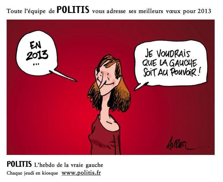 Les vœux de Politis... dans F. Hollande politis11