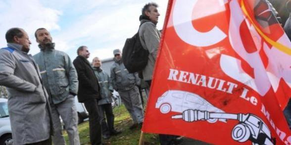 Colère des salariés de Renault face au chantage de la direction renaultlemans