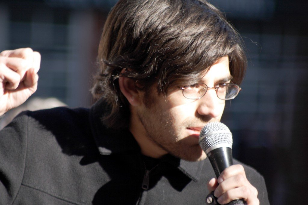 La mort d'Aaron Swartz,