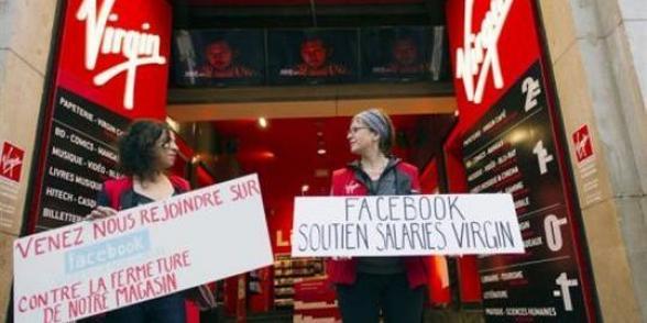 Virgin : Pour aider les 1 200 salariés à sauver leur emploi, signez leur pétition dans France virgin