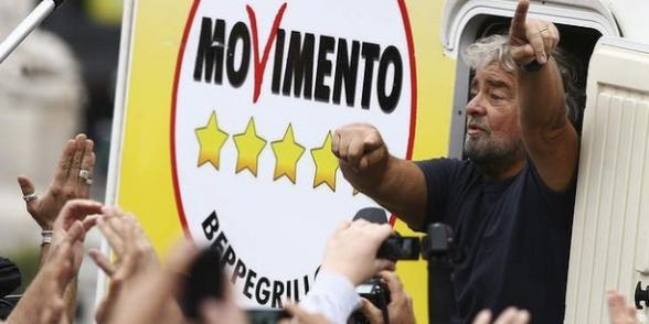 L'Italie et le populisme de Beppe Grillo dans Italie beppe-grillo