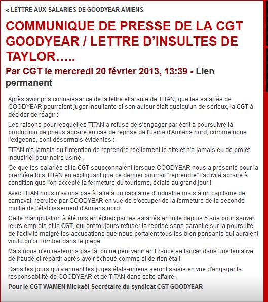 cgt-goodyear Goodyear Amiens dans licenciements