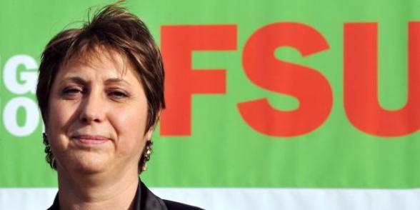 Syndicalisme : Bernadette Groison, secrétaire générale de la FSU, répond aux questions de L'Humanité dans Education nationale groison
