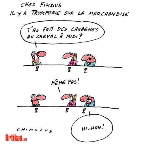 humour-34 Findus dans ECONOMIE
