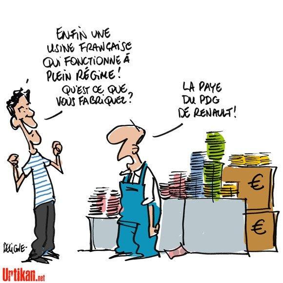 Partage des richesses... dans Dessin de presse humour37