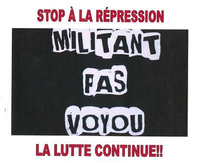 Exigeons l'annulation des poursuites et des procédures de licenciement contre les militants syndicaux de PSA Aulnay dans France militant