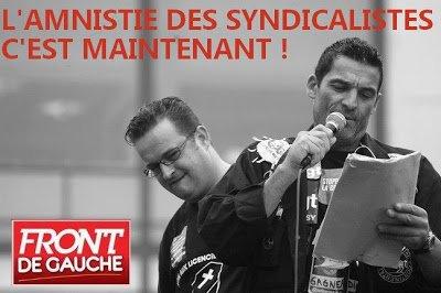 Amnistie sociale : une première victoire qui en appelle d'autres  dans France aministie-syndicat
