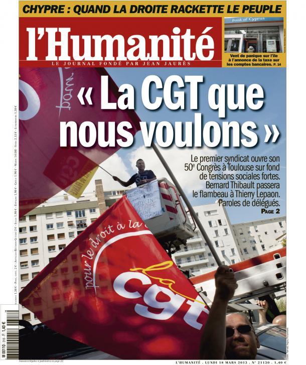 L'Humanité : Demain 18 mars, numéro spécial