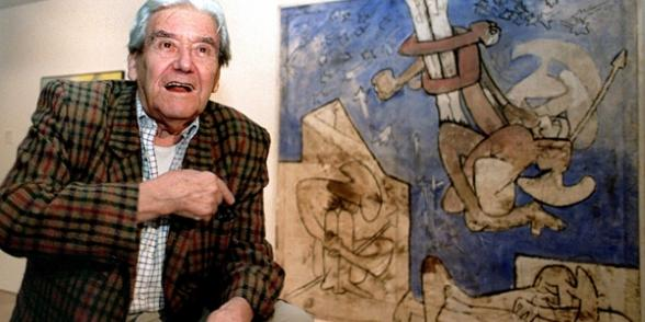 Exposition Roberto Matta dans le cadre du Festival