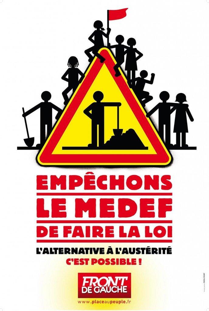 Le Medef ne fera pas la loi (tract) dans Front de Gauche medef3