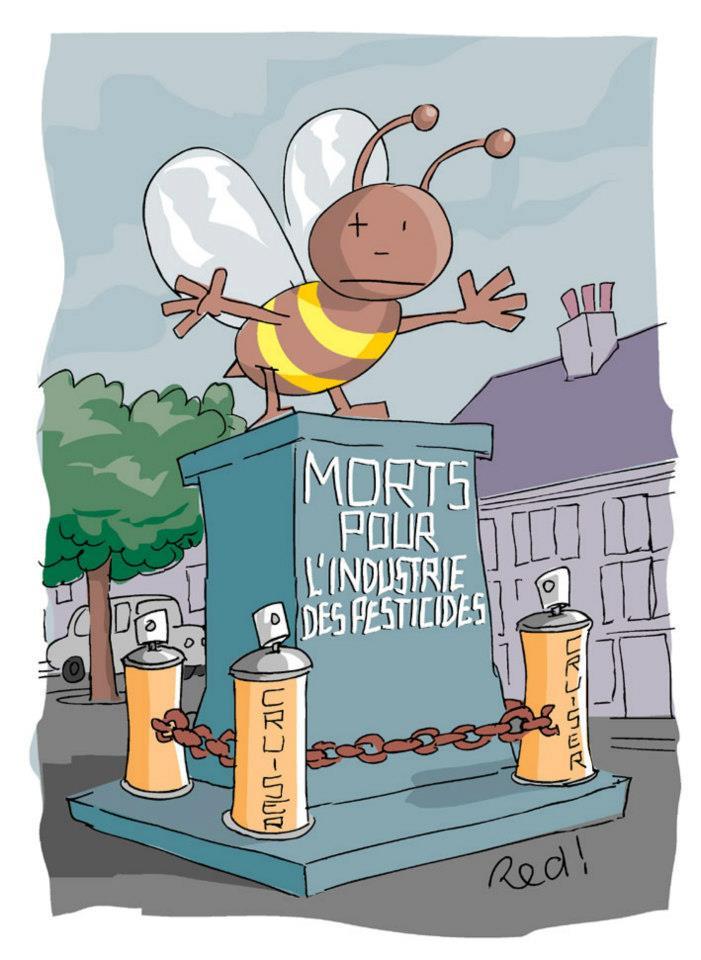 Les pesticides nocifs aux abeilles ne seront pas interdits dans l'UE. Bayer se frotte les mains !  dans Apiculture pesticides