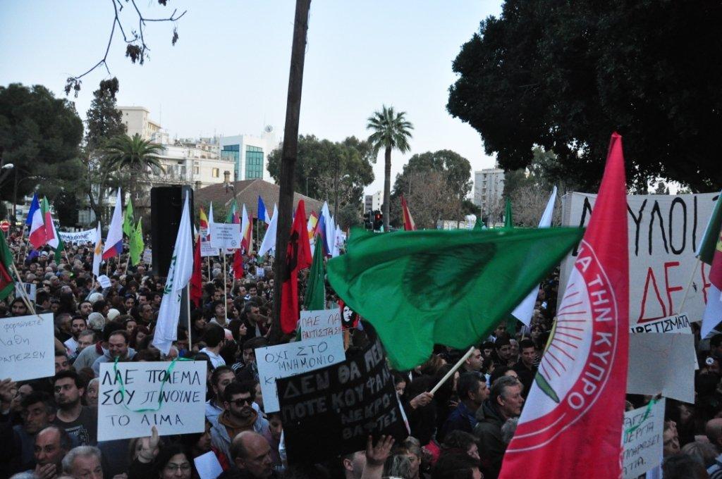 La salutaire résistance chypriote dans Austerite photochypre
