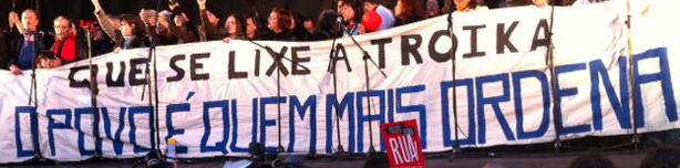 Portugal : des dizaines de milliers de Portugais ont manifesté ce samedi contre l'austérité  dans Austerite portugal2