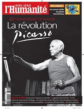 Hors-Série l'Humanité : La révolution Picasso dans Culture unepicasso