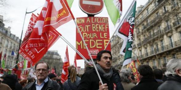La mobilisation contre l'ANI sur l'emploi se poursuit au Sénat dans CGT ani