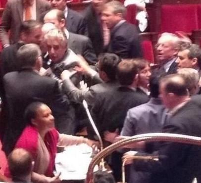 Mariage pour Tous : Bagarre à l'Assemblée nationale dans Assemblee nationale captureassemblee1
