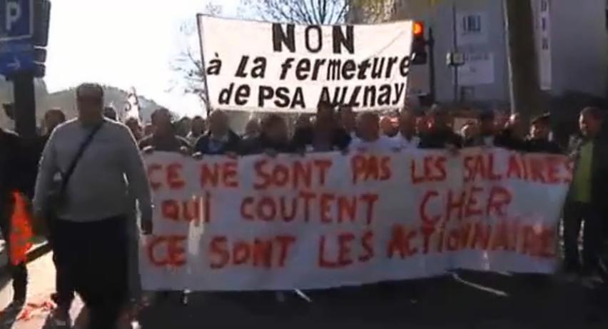 CGT PSA Aulnay : Non au chantage de la direction dans CGT capturepsa14