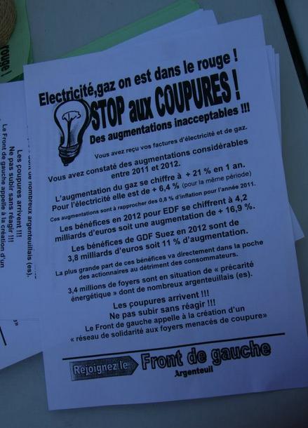 Blocage du centre EDF de Sannois/Argenteuil (95) pour éviter les coupures d'électricité : opération réussie !  dans CGT edf1