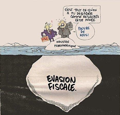 Humour et Politique dans Humour evasion-fiscale