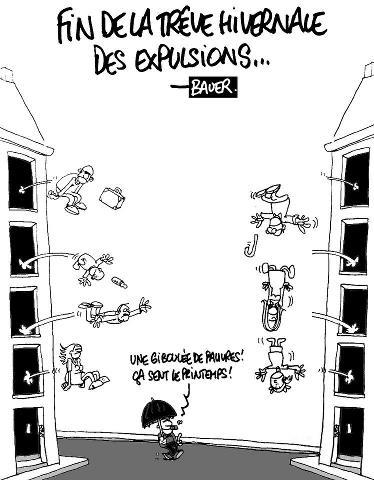 Fin de la trêve hivernale des expulsions : les associations demandent un moratoire en 2013 dans France richesse61