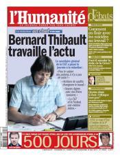 Bernard Thibault appelle à soutenir l'Huma dans l'Humanité thibault-hq