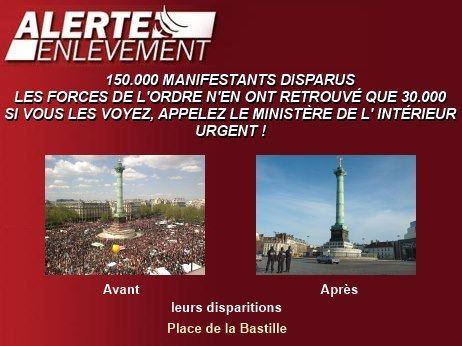 Alerte-Enlèvement : 150 000 manifestants disparus... dans POLITIQUE alertenlevement