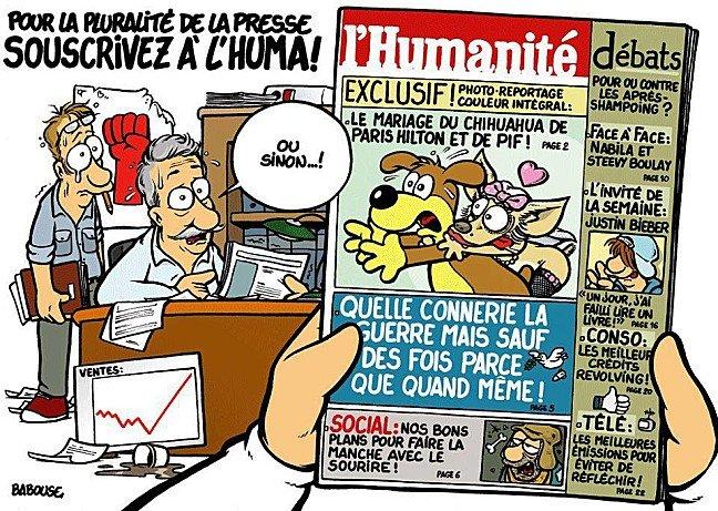 Souscrivez à L'Huma ! dans Liberte de la presse babousouscripthuma1
