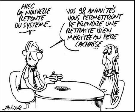 faujour-retraites flexibilité dans France