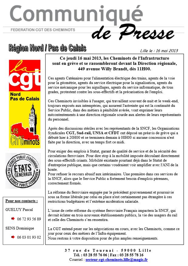 Grève des transports à Lille : communiqué de la CGT Cheminots dans CGT grevelille