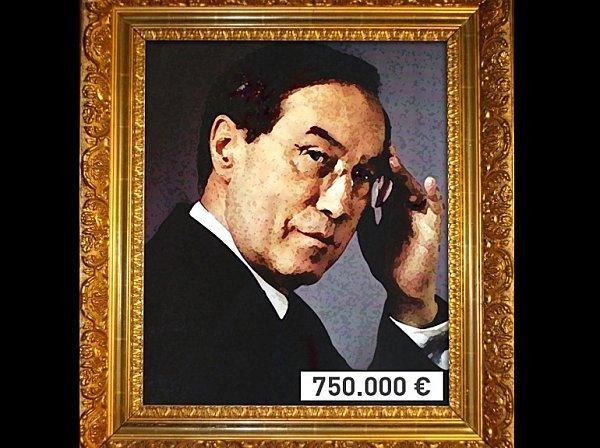 Autoportrait de Claude Guéant dans Humour